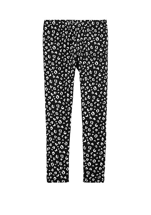 Girls 4-8 Leopard Leggings