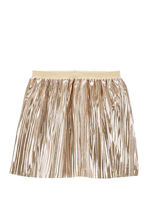 Carter's® Girls 4-8 Metallic Pleated Skirt