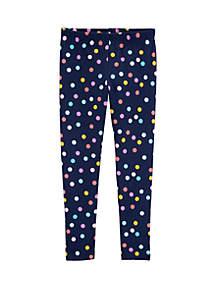 Carter's® Girls 4-8 Polka Dot Leggings