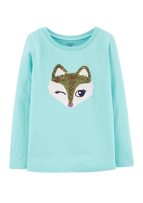 Carter's® Girls 4-8 Fox T-Shirt