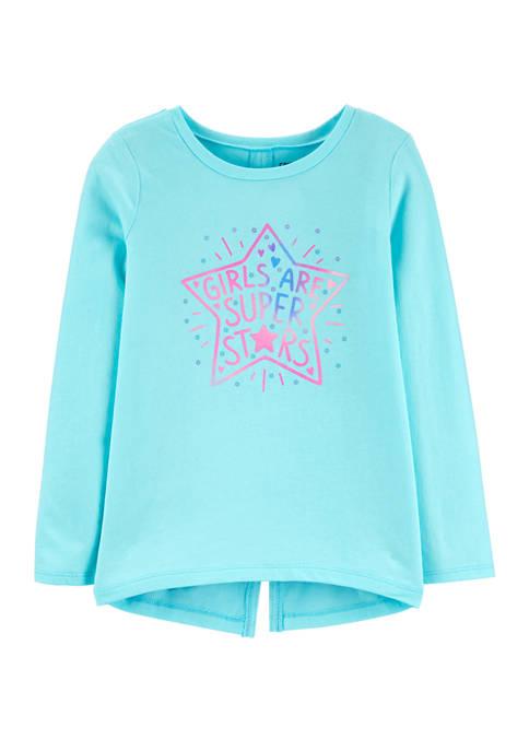 Carter's® Girls 4-8 Super Star Graphic T-Shirt