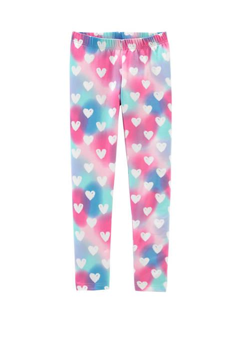 Carter's® Girls 4-8 Rainbow Heart Leggings