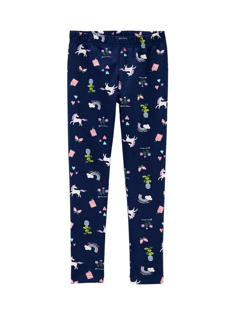 Carter's® Girls 4-8 Unicorn Leggings