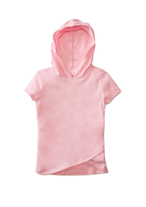 Carter's® Girls 4-8 Pink Glitter Hood Top