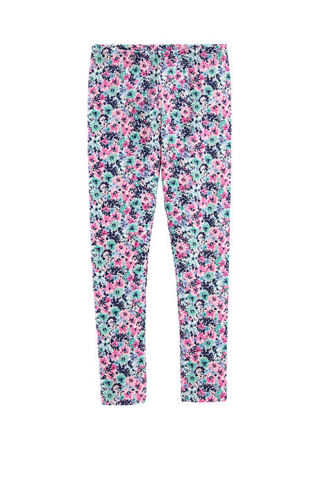 Carter's® Girls 4-8 Floral Leggings