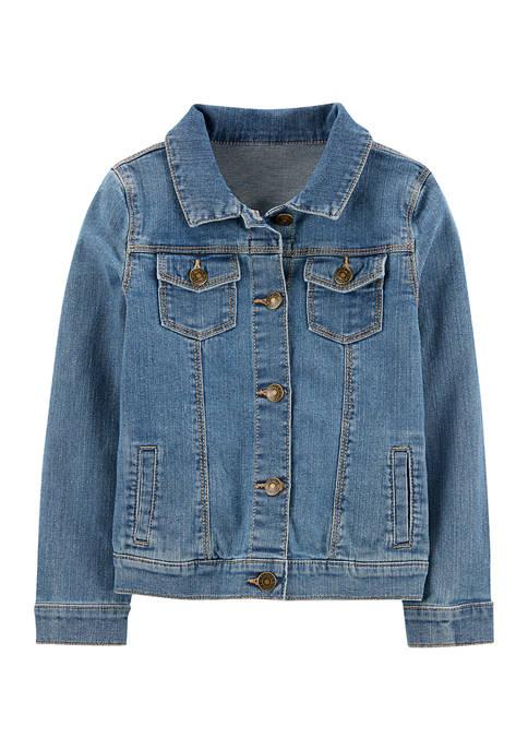 Girls 4-8 Denim Jacket