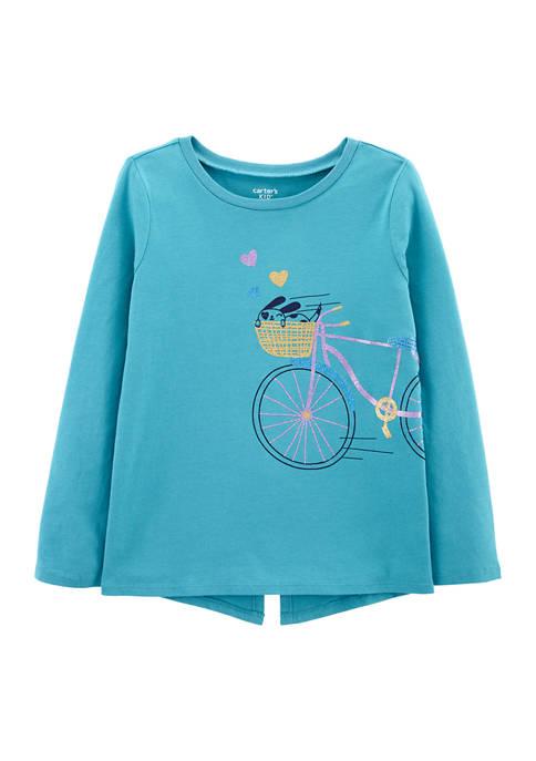 Carter's® Girls 4-8 Bike Top