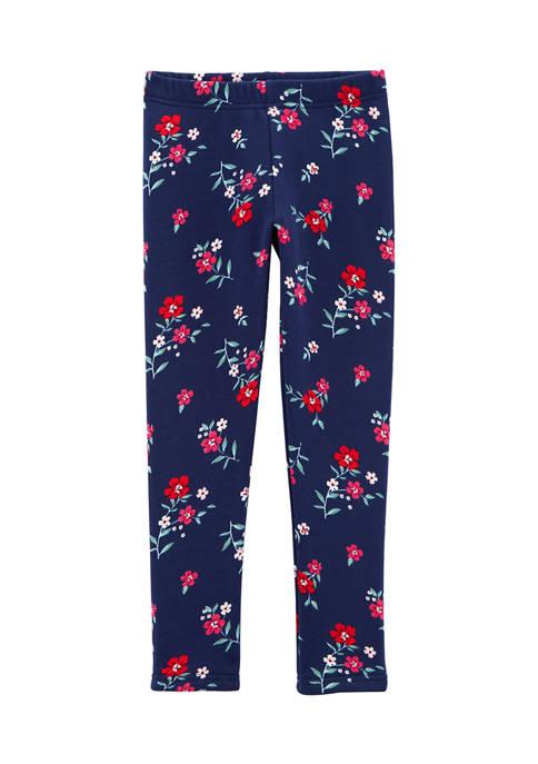 Carter's® Girls 4-6x Floral Leggings