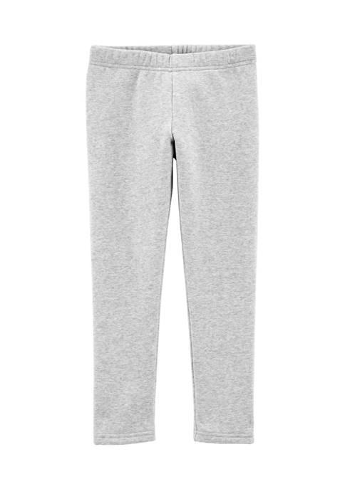 Girls 4-6x Cozy Fleece Lined Leggings