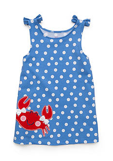 J. Khaki® Crab Polka Dot Tank Top Girls 4-6x