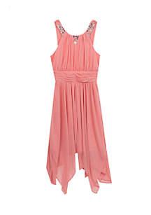 Jeweled Dress Girls 4-6x