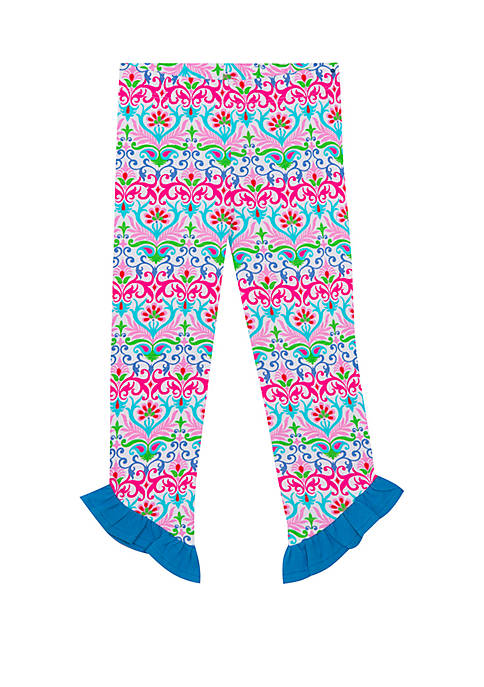 Jumping Fences by Rare Editions Girls 4-6x Patterned