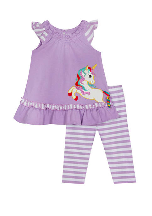 Jumping Fences by Rare Editions Toddler Girls Sleeveless