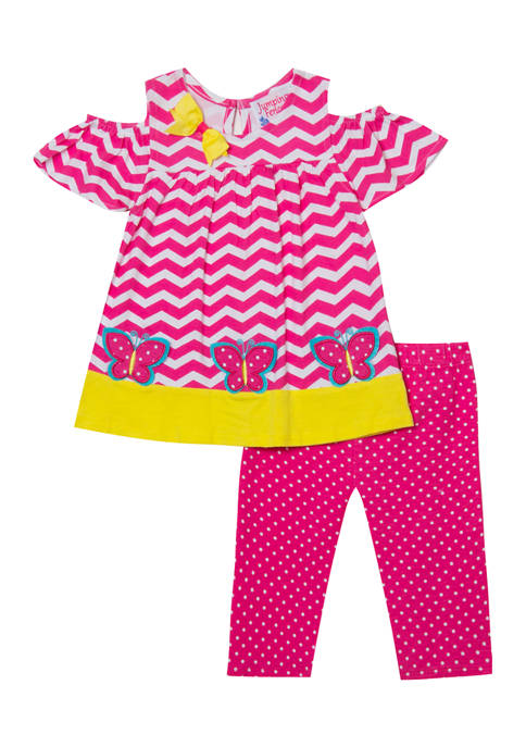 Jumping Fences by Rare Editions Girls 4-6x Butterfly