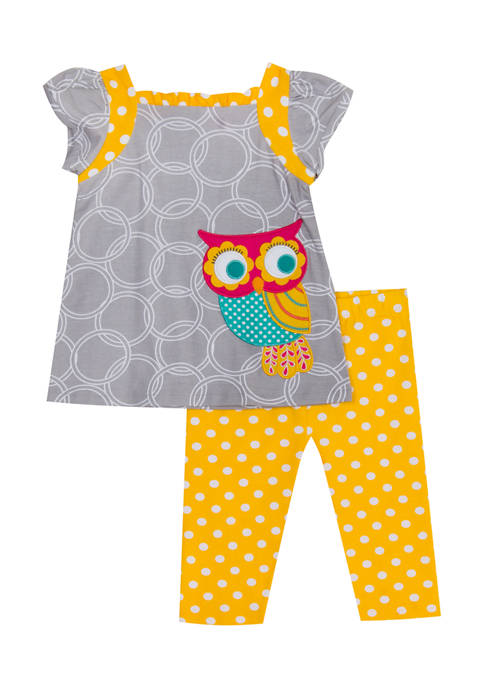 Jumping Fences by Rare Editions Girls 4-6x Owl