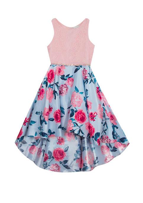Rare Editions Girls 7-16 Floral Skirt Dress