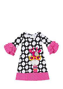 Girls 7-16 Giraffe Dress