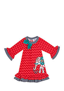 Girls 7-16 Chevron Ellye Dress