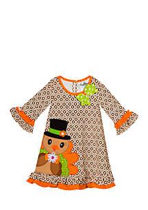 Girls 7-16 Thanksgiving Turkey Dress