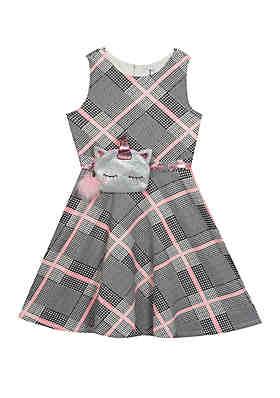 4d6aa43febdf Rare Editions Girls 7-16 Plaid Unicorn Belt Dress ...
