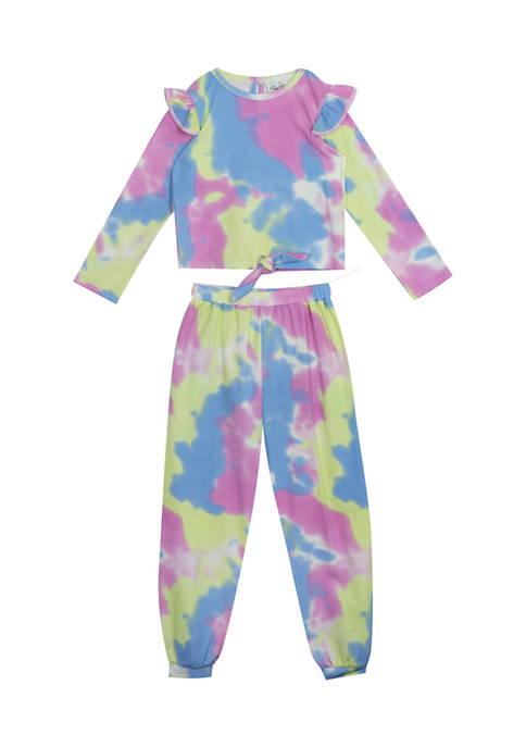 Girls 7-16 Tie Dye Set