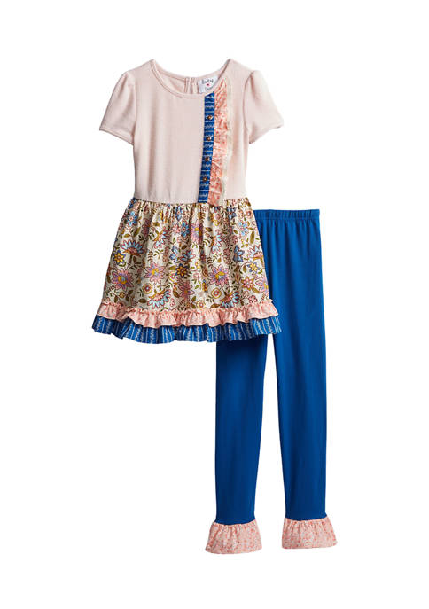 Counting Daisies Girls 7-16 2 Piece Set