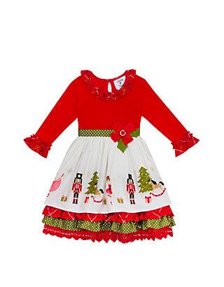 Rare Editions Christmas Dresses.Girls 7 16 Nutcracker Dress