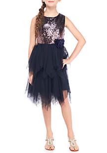 Fairy Hem Dress Girls 7-16