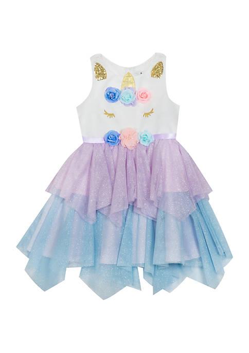Girls 4-6x Unicorn Fancy Dress