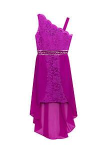 Lace High Low Dress Girls 7-16
