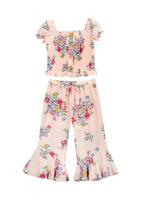 Counting Daisies Girls 7-16 2 Piece Woven to