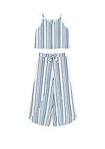 Amy Byer Girls 7-16 2 Piece Coordinated Top and Pants Set