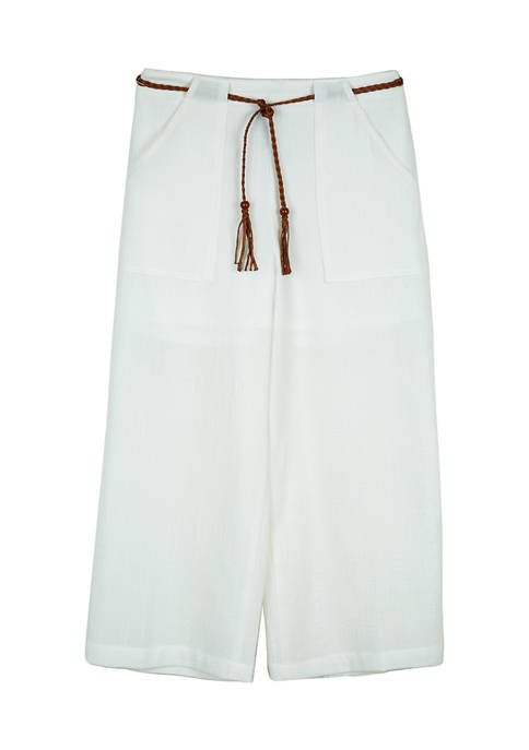 Amy Byer Girls 7-16 Off White Pants