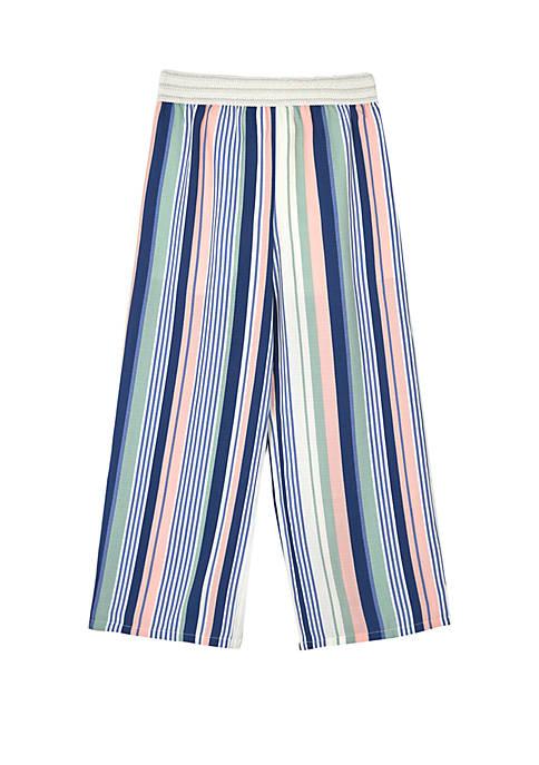 Amy Byer Girls 7-16 Stripe Print Soft Pants