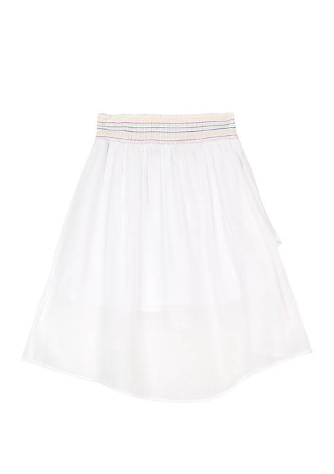 Amy Byer Girls 7-16 White High Low Wrap