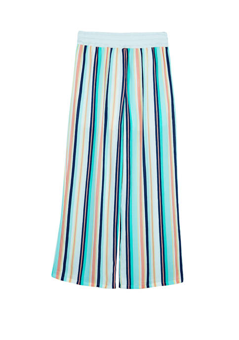 Amy Byer Girls 7-16 Multi Stripe Soft Pants