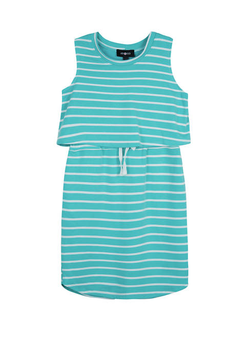 Amy Byer Girls 7-16 Athleisure Stripe Kint Mini