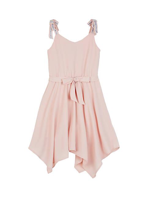 Amy Byer Girls 7-16 Self Tie Dress