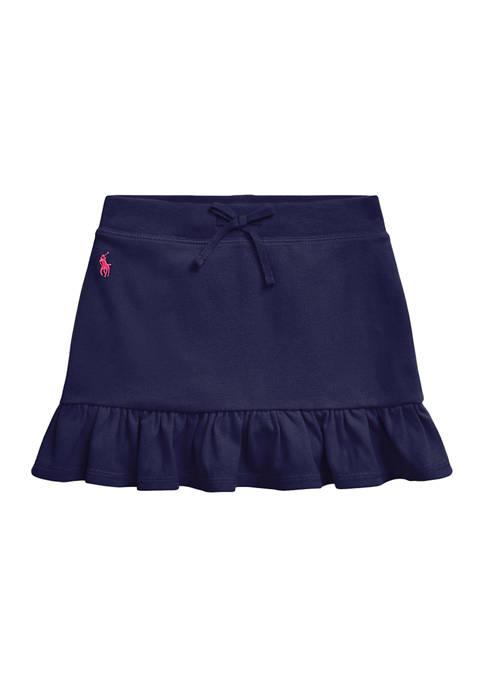 Ralph Lauren Childrenswear Girls 4-6x Ruffled Stretch Mesh