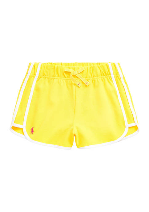 Girls 7-16 Stretch Mesh Pull On Shorts