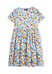 Girls 7-16 Floral Empire Waist Dress