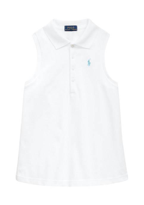 Ralph Lauren Childrenswear Girls 4-6x Stretch Cotton Mesh