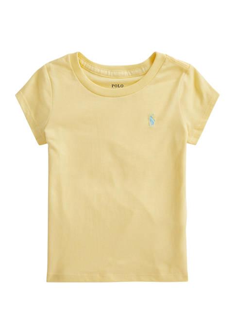Girls 4-6x Cotton Jersey Tee