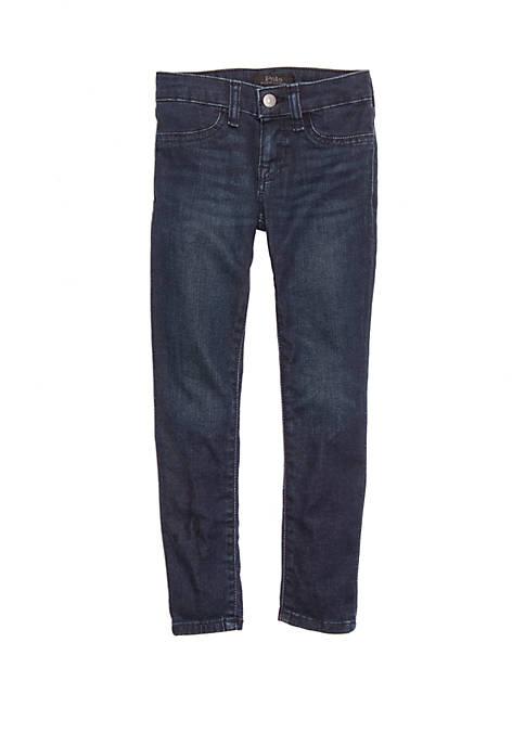 Ralph Lauren Childrenswear Girls 4-6x Aubrie Denim Legging