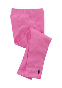 Stretch Cotton Legging Girls 4-6x