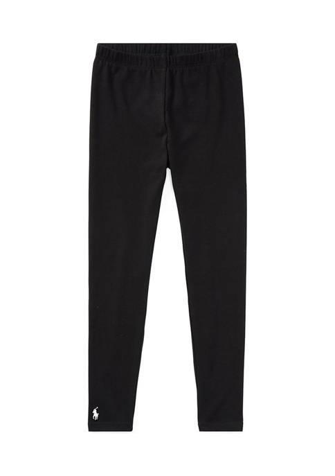 Ralph Lauren Childrenswear Stretch Cotton Legging Girls 4-6x