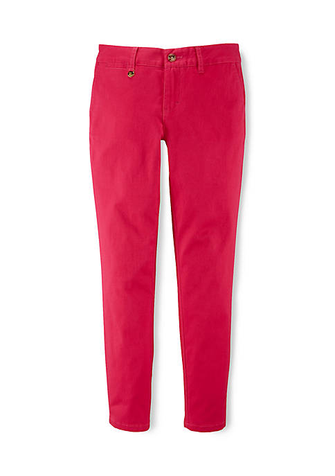 Ralph Lauren Childrenswear Cotton Chino Slim Fit Jeans