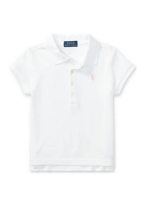 Ralph Lauren Childrenswear Short Sleeve Polo Girls 4-6x