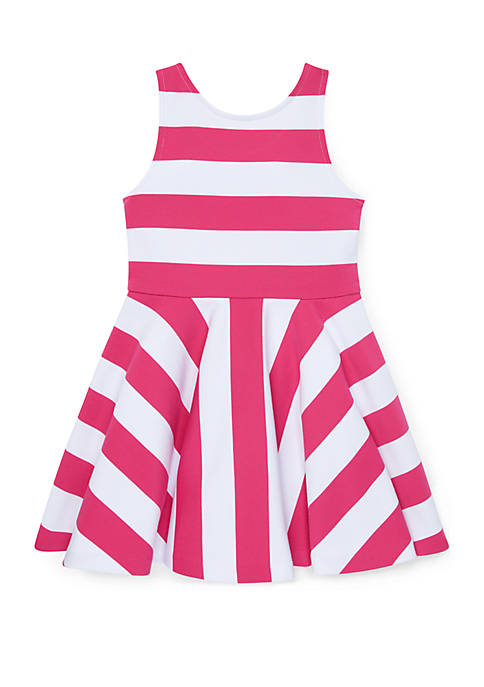 Ralph Lauren Childrenswear Girls 4-6x Striped Ponte Sleeveless