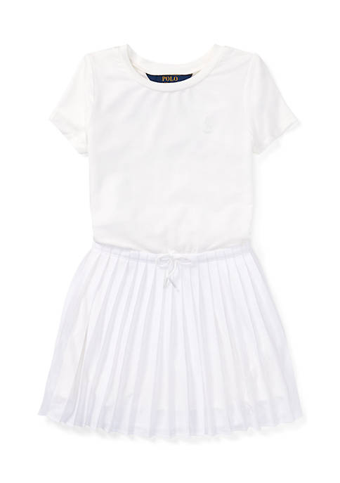 Ralph Lauren Childrenswear Girls 4-6x Pleated Jersey T-Shirt